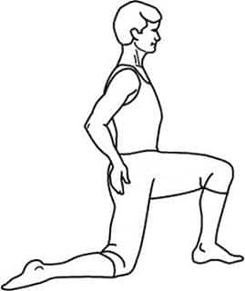 Psoas Major Muscle Stretch Exercise